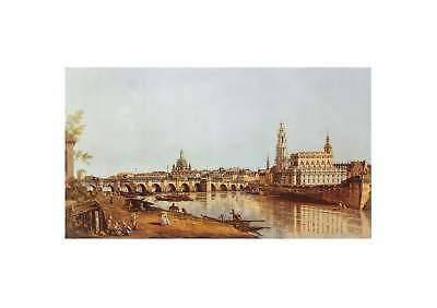 Canaletto Dresden Elbufer Poster Kunstdruck Bild 70x100cm - Germanposters