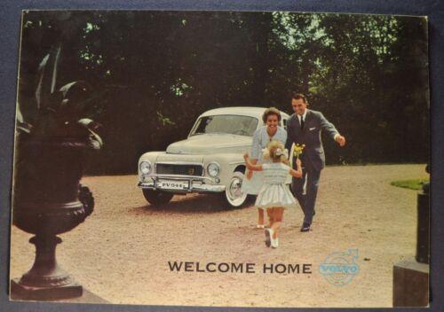 1961 Volvo 544 Catalog Sales Brochure Excellent Original 61