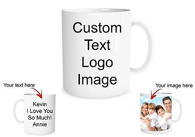 Custom Photo Mug Create a Personalized Gift with your Photos or Text Customized - Personalize Mug
