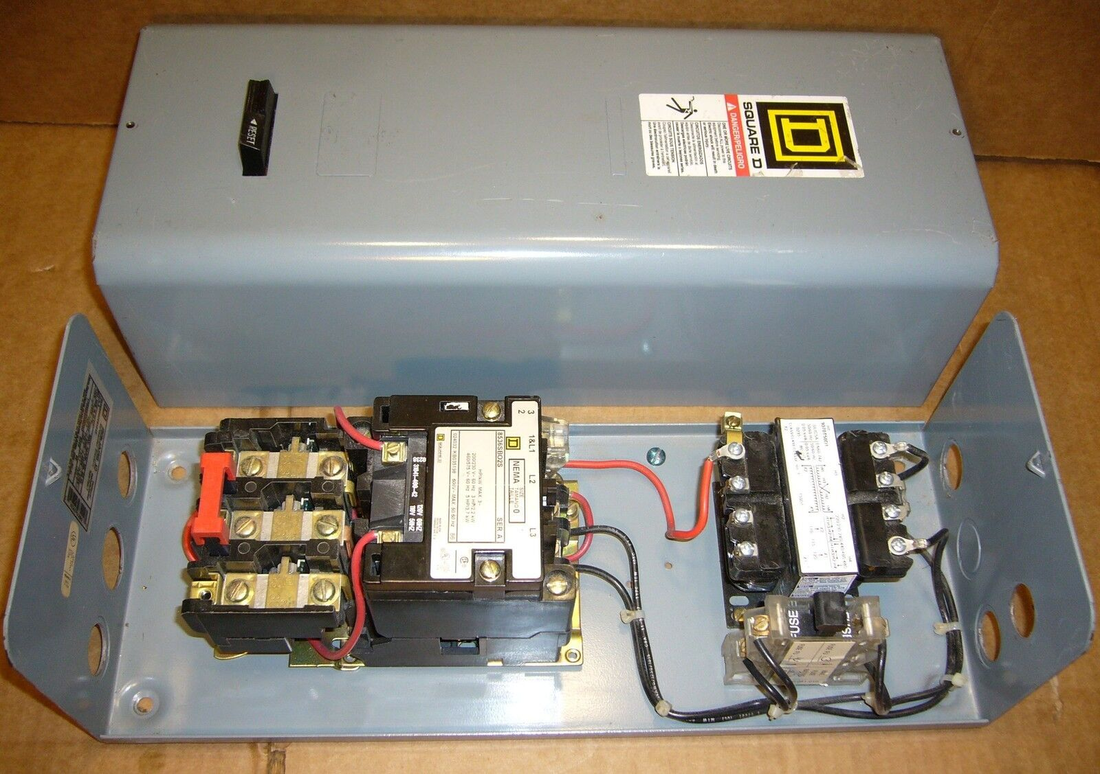 Square D Nema Size 0 Starter With B330 Heater Elements 1 Wiring Diagram 2 Of 6 8536sbg2v81f4t 8536sbo2s