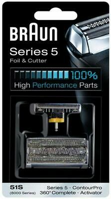 Braun Series 5 Combi 51s Foil And Cutter Replacement Pack Cutter Combi Pack