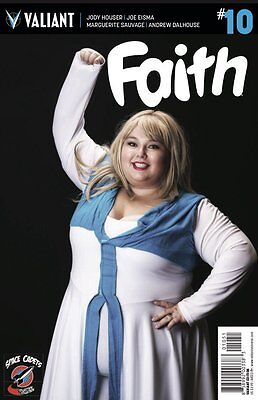 Faith #10 Valiant Comic Book Space Cadets Cosplay Store Exclusive Variant](Superhero Cosplay Store)