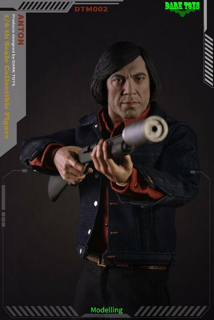 Dark Toys 1/6 DTM002 Anton Chigurh No Country for Old Men Deluxe Edition Figures
