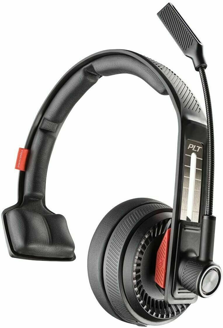 Plantronics Voyager 104 Bluetooth Headset, Over The Head Headset With Microphone - $99.99