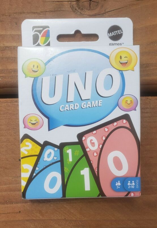 UNO 2010s 10s Retro Version Family Card Game #5 of 5 in Series
