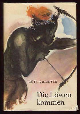 Die Löwen kommen – Götz R. Richter & Kurt Zimmermann  DDR Jugendbuch mit Inhalts