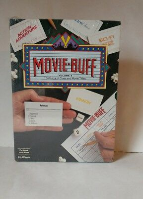 NEW SEALED VTG1991 Movie Buff Game Volume1