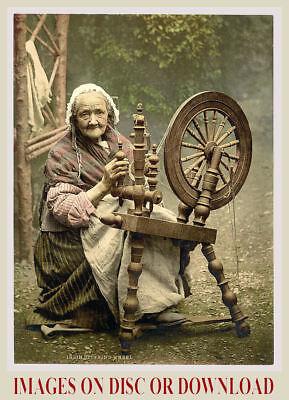 Print Sell - C1900 Ireland Irish Colour Photochrom Prints - By Timecamera