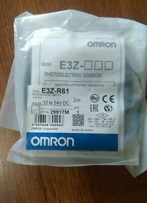 Omron E3z-r61 Photoelectric Switch E3zr61 Sensors Cable New