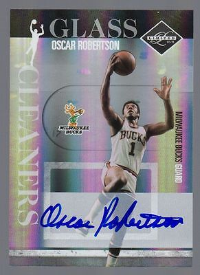 2010-11 Limited Oscar Robertson Auto Glass Cleaners #9/49 Bucks