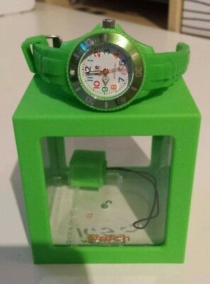 Ice-Watch Kinderuhr Kinder Uhr Ice-Mini Grün Armbanduhr 10 BAR  gebraucht kaufen  Magdeburg