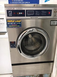 Coin operated washing machine and dryers - closing laundromat