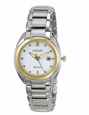 Citizen Eco-Drive Women's EM0314-51A Celestial Diamond Markers Watch