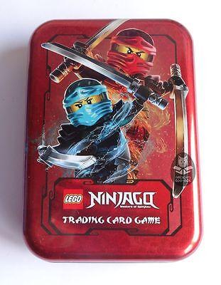 LEGO NINJAGO Serie 2 MINI TIN BOX ROT, Trading Card Game, leer