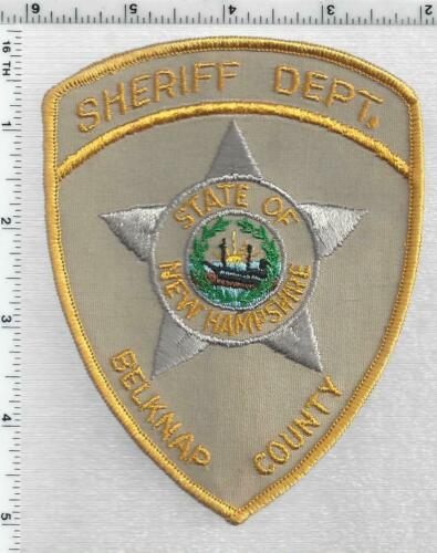 Belknap County Sheriff (New Hampshire)  2nd Issue Shoulder Patch