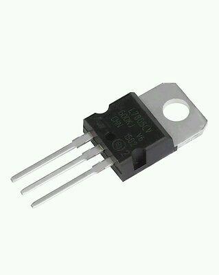 5 Pcspositive 5 Volt Regulator 1.5 Amp To220 - L7805 Lm7805 7805 Usa Seller