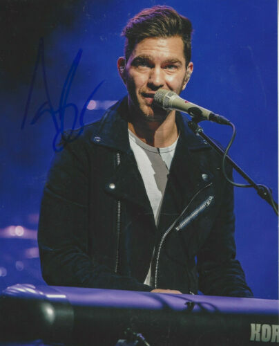 Singer Songwriter Andy Grammer  Autographed 8x10 color  photo