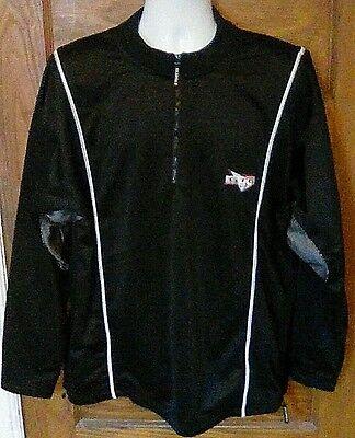 Euc Kajumulo Soccer Track Jacket Black 1 2 Zip Xl Gtg Global Training Gear Fs