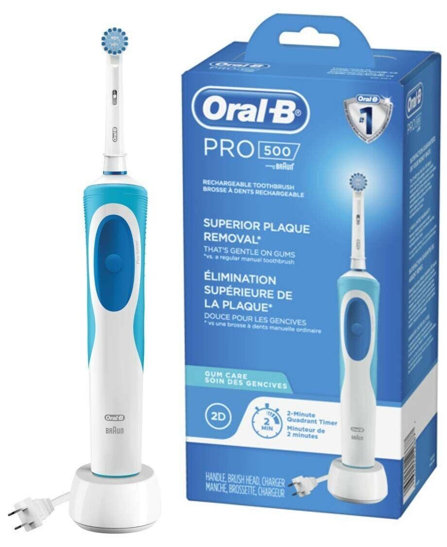 oral b pro 500 sensitive gum care