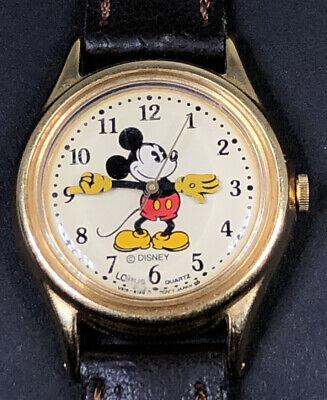 Rare Vintage Ladies Lorus Disney *Mickey Mouse* V515-6128 Quartz Watch