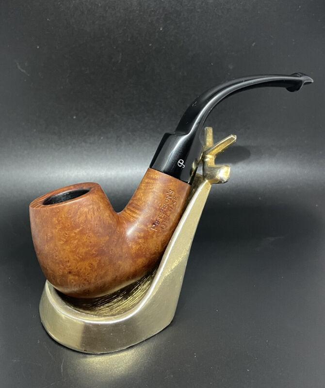 Peterson Deluxe! Oustanding Bent Billird Estate Pipe in Fantastic Shape