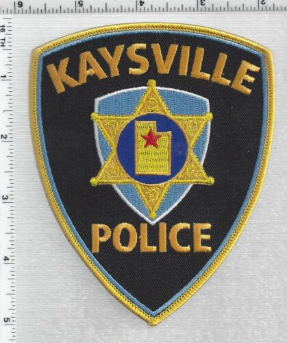 Kaysville Police (Utah) 3rd Issue Shoulder Patch