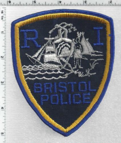 Bristol Police (Rhode Island) Shoulder Patch issued in 1988