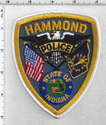 Hammond Police (Indiana) 3rd Issue Shoulder Patch