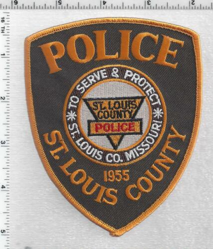 St. Louis County Police (Missouri) 4th Issue Shoulder Patch