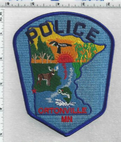 Ortonville Police (Minnesota) 3rd Issue Shoulder Patch