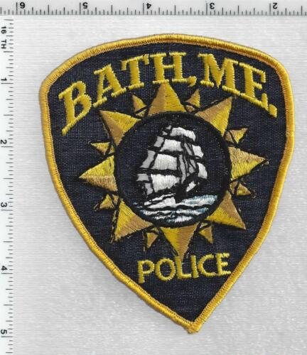 Bath Police (Maine) 2nd Issue Shoulder Patch