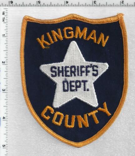 Kingman County Sheriff (Kansas) 1st Issue Shoulder Patch