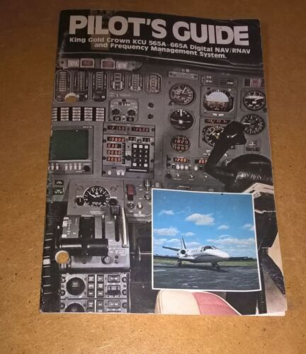 Bendix King KCU-565A -665A Digital Nav/RNAV System Pilot's Manual guide