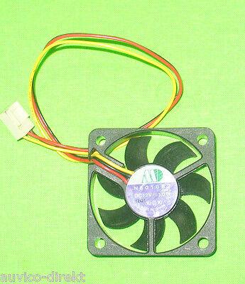 Motor One Ball Bearing Fan 5010B2 Lüfter Gehäuselüfter 50mm 12V 1,0W