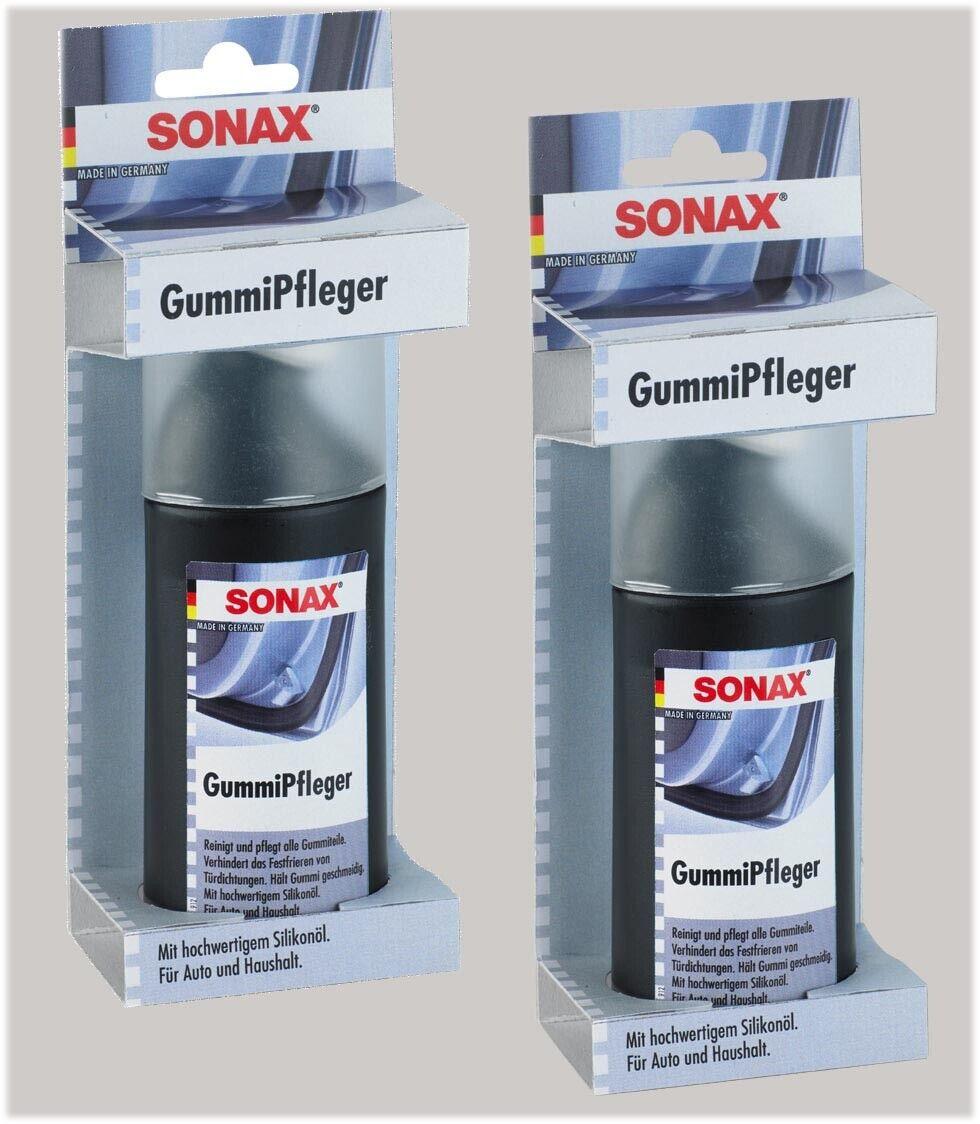 2 SONAX  GummiPfleger je 100ml Autopflege Fensterdichtungen