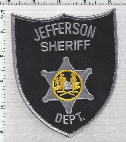 Jefferson Sheriff Dept. (West Virginia) 3rd Issue Shoulder Patch