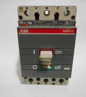 ABB SACE S3 TYPE S3L CIRCUIT BREAKER 25AMP 600VAC for sale  Canada