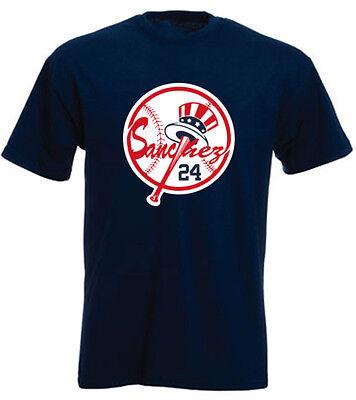 Gary Sanchez New York Yankees  Logo  Jersey T Shirt Shirt Or Long Sleeve