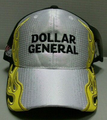 Matt Kenseth Dollar General Fast Time Adjustable Checkered Flag Hat Free Ship