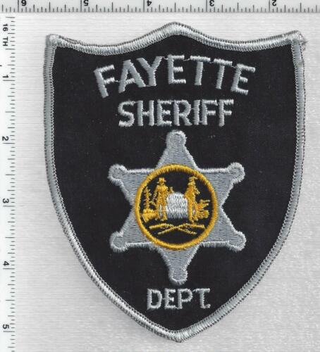 Fayette Sheriff Dept. (West Virginia) 1st Issue Shoulder Patch