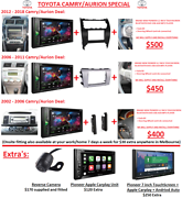 TOYOTA CAMRY AURION PIONEER DVD PLAYER RADIO SPECIAL STEREO Glen Waverley Monash Area Preview