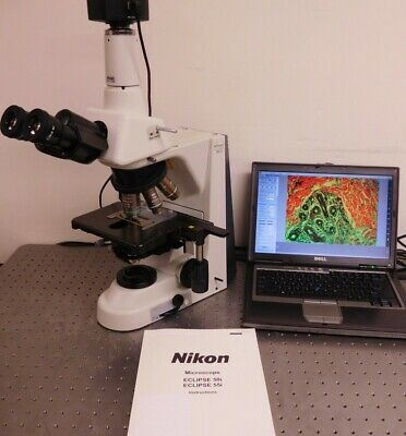 Nikon Eclipse 50i Trinocular Microscope With 10mp Camera System