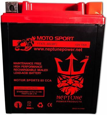 YTX7L BS 2014 HONDA CRF230L Neptune Power Replacement Battery