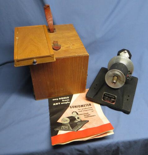 Vintage Forbes Morse Electro-Mec Instrument Goniometer Model 1910-B  w/Tools