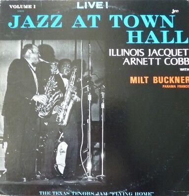 LP Illinois Jacquet, Arnett Cobb & Milt Buckner: Jazz at Town Hall Vol. 1