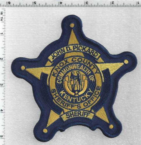 Knox County Sheriff - John D. Pickard (Kentucky) 5th Issue Shoulder Patch