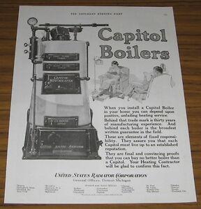 1924-Vintage-Ad-Capitol-Boilers-United-States-Radiator-Corp-Detroit-MI