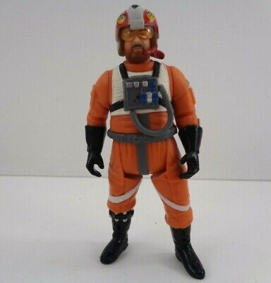 Star Wars Jek Porkins X-Wing Pilot 3.75'' Action figure POTJ 2000 Hasbro