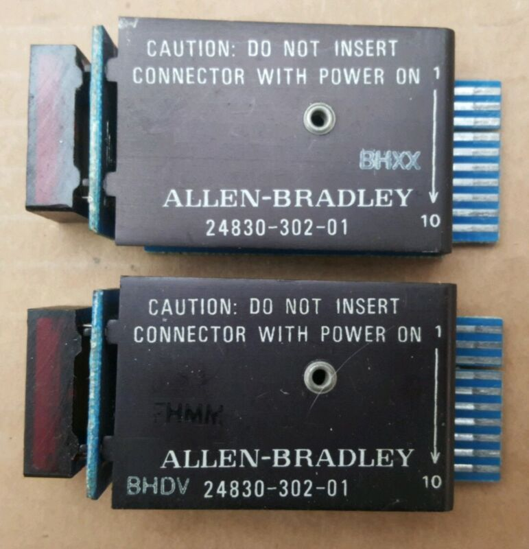 Lot of 2 Allen Bradley 2-Digit Display Module 24830-302-01 Used