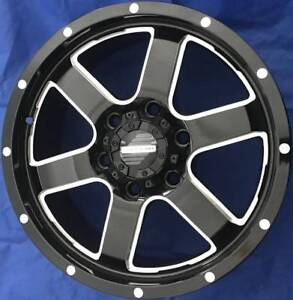 SET OF FOUR (4) AUSCAR 17x8 6/139.7 et40 DUNE Morley Bayswater Area Preview